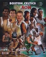 2008 Boston Celtics Then & Now Composite Fine-Art Print