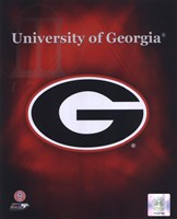 2008 University of Georgia Team Logo Fine-Art Print