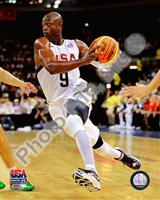 Dwyane Wade 2008 Team USA Action Fine-Art Print