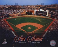 Opening Day of Shea Stadium April 17, 1964 With Overlay Fine-Art Print