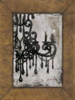 Antique Chandelier I Fine-Art Print
