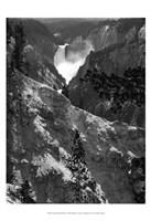 Mountain Waterfall I Fine-Art Print