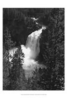 Mountain Waterfall II Fine-Art Print