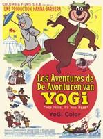 Hey There It's Yogi Bear French Fine-Art Print