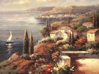 Mediterranean Vista Fine-Art Print