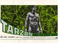 Tarzan and the Great River, c.1967 - style B Wall Poster
