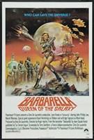 Barbarella Queen of the Galaxy Fine-Art Print