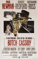 Butch Cassidy and the Sundance Kid Paul Newman Fine-Art Print