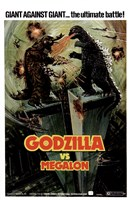 Godzilla vs Megalon Fine-Art Print