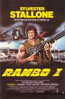 Rambo I: First Blood with Stallone Fine-Art Print