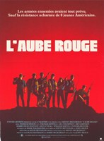 Red Dawn L'Aube Rouge French Fine-Art Print