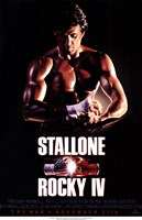 Rocky 4 Sylvester Stallone Fine-Art Print