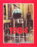 1984 French In Red Fine-Art Print
