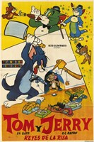 Tom and Jerry - spanish Fine-Art Print