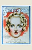 Marlene Dietrich - woman's face Fine-Art Print
