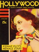 Joan Crawford - Hollywood Fine-Art Print