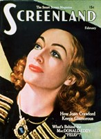 Joan Crawford - Screenland Fine-Art Print