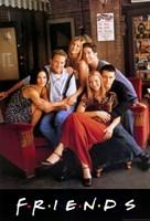 Friends (TV) Cast Fine-Art Print