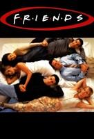 Friends (TV) Lying on Bed Fine-Art Print