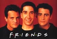 Friends (TV) Joey Chandler & Ross Fine-Art Print