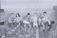 Friends (TV) Black and White Fine-Art Print