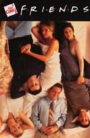 Friends (TV) Beds Vertical Fine-Art Print
