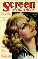 Greta Garbo - Screen Romances Fine-Art Print