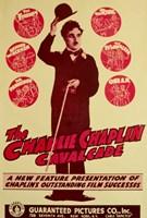 Charlie Chaplin Cavalcade Fine-Art Print