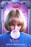 Charlie and the Chocolate Factory Violet Fine-Art Print