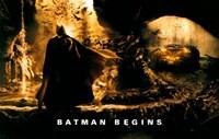 Batman Begins Batmobile Yellow Fine-Art Print