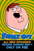 Family Guy Peter Griffin Fine-Art Print