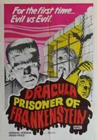 Dracula Prisoner of Frankenstein/Werewolf's Shadow Fine-Art Print