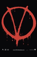 V for Vendetta Logo Fine-Art Print