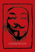 V for Vendetta Mask Fine-Art Print