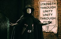 V for Vendetta Sign Horizontal Fine-Art Print