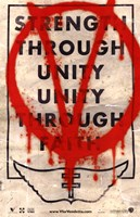 V for Vendetta Strength Through Unity Fine-Art Print