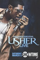 One Night One Star: Usher Live Fine-Art Print