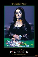 World Series of Poker Poker Face Art Spoof Fine-Art Print