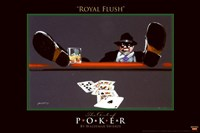 World Series of Poker Royal Flush Fine-Art Print