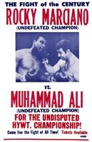 Rocky Marciano vs Muhammad Ali Fine-Art Print