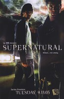 Supernatural (TV) Dean & Sam Winchester Fine-Art Print