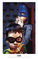 Batman and the Boy Blunder II Fine-Art Print