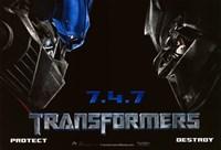 Transformers - style M Fine-Art Print