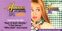 Hannah Montana - soundtrack - style B Wall Poster