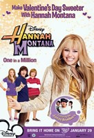 Hannah Montana - One in a Million - style C Wall Poster