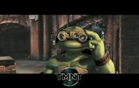 Teenage Mutant Ninja Turtles Michaelangelo Goggles Fine-Art Print