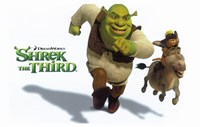 Shrek the Third Racing Donkey Fine-Art Print