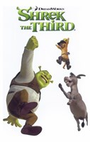 Shrek the Third Jumping Fine-Art Print