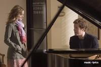 Music and Lyrics - couple at a piano Fine-Art Print