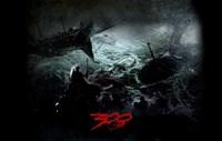 300 Ocean Battle Fine-Art Print